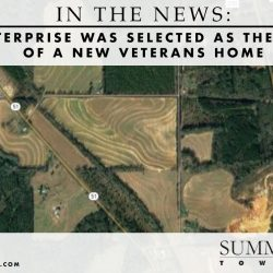 Enterprise Was Selected as the Site of a New Veterans Home