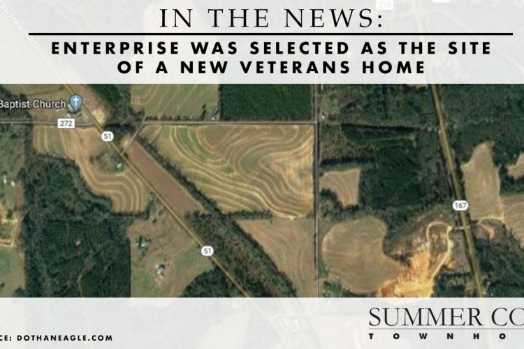 In the News: Enterprise Was Selected as the Site of a New Veterans Home