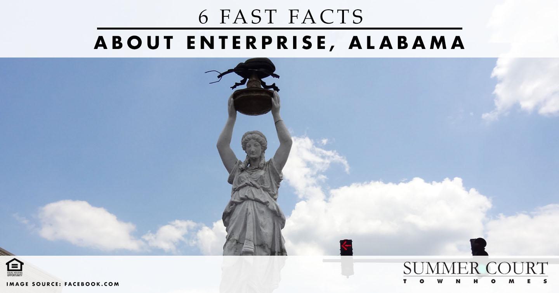 Facts About Enterprise, Alabama