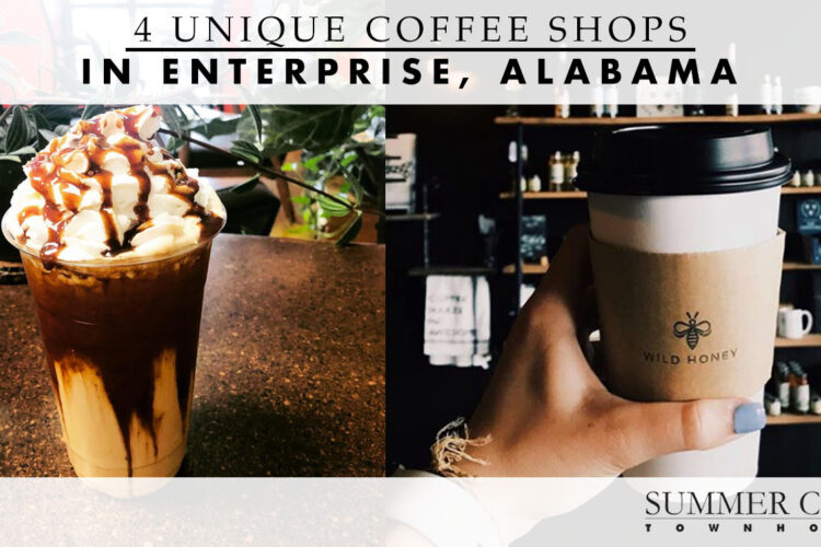4 Unique Coffee Shops in Enterprise, Alabama