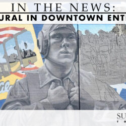 new mural in Downtown Enterprise