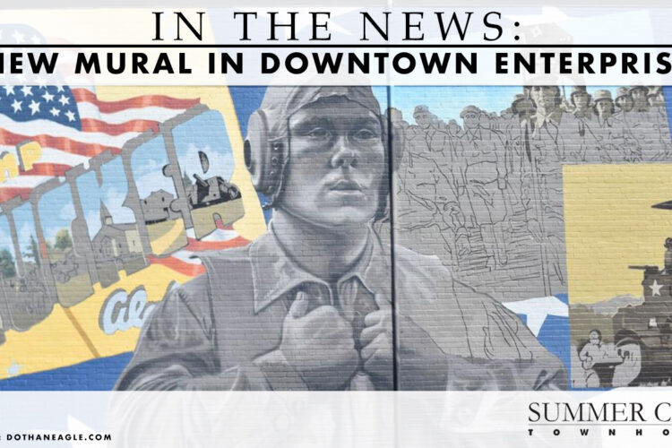 In the News: New Mural in Downtown Enterprise
