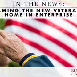 naming the new veterans home in Enterprise