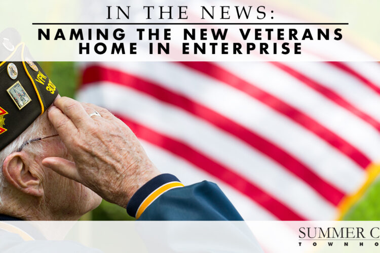 In the News: Naming the New Veterans Home in Enterprise