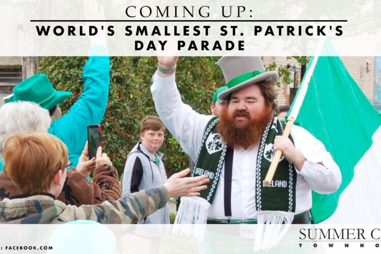 Coming Up: World's Smallest St. Patrick's Day Parade