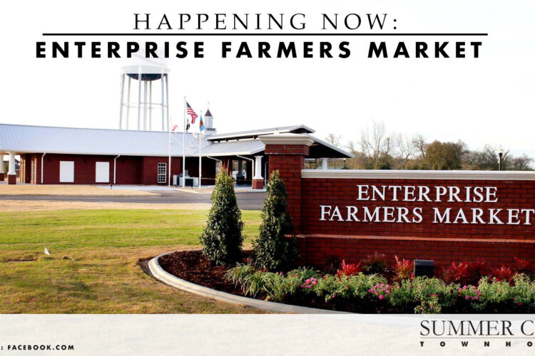 Happening Now: Enterprise Farmers Market
