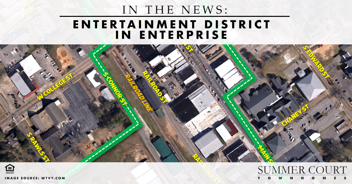 In the News: Entertainment District in Enterprise