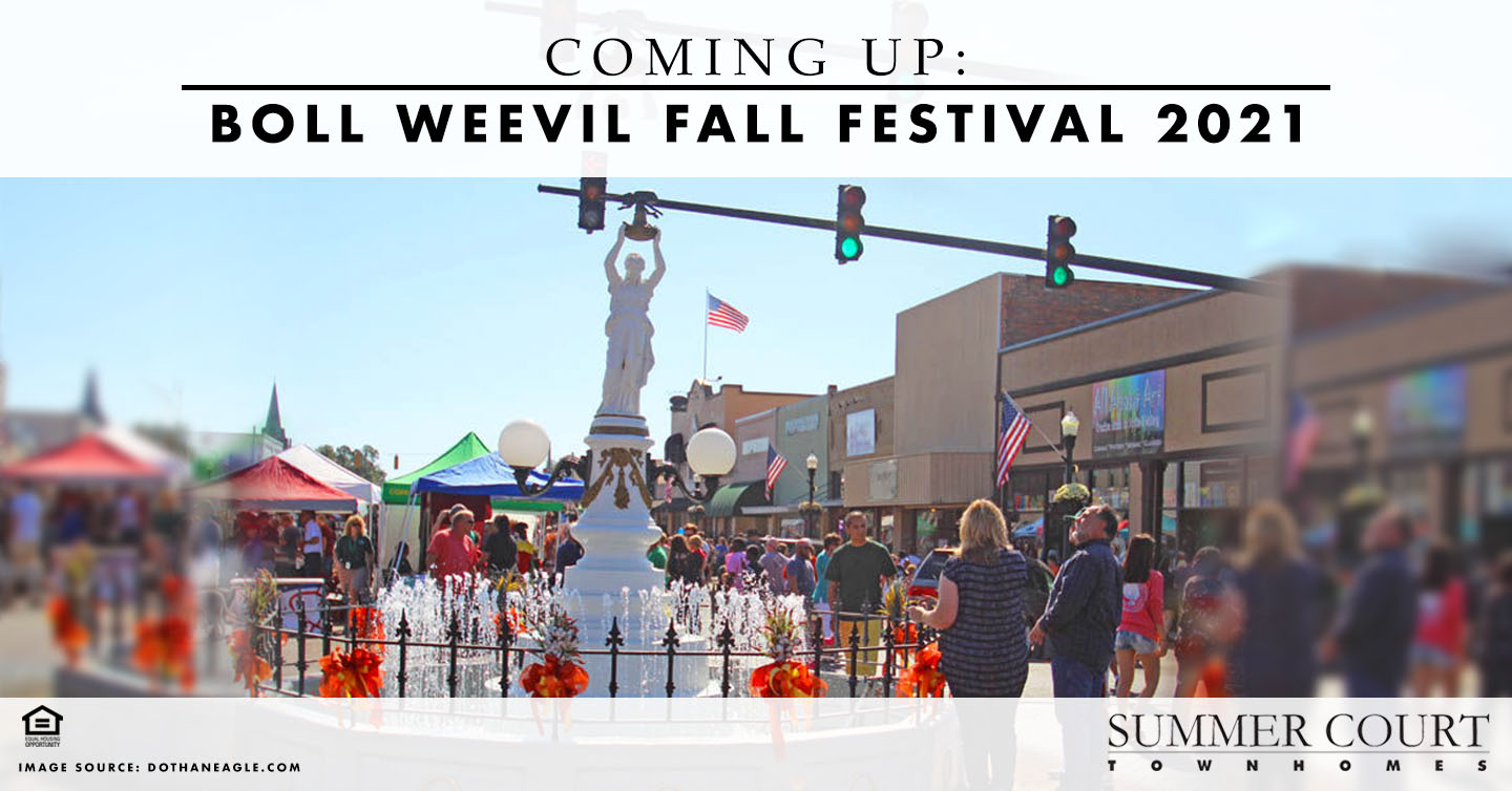 Coming Up: Boll Weevil Fall Festival 2021